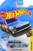 '64 Chevy Nova Wagon | Model Racing Cars | 2019 Hot Wheels HW Art Cars '64 Chevy Nova Wagon