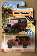 '62 Jeep Willys Wagon   Model Trucks