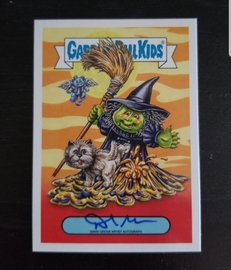Oh The Horrible David Gross Autograph  | Trading Cards (Individual)