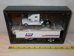 MD Transport Freightliner Semi with Van Trailer by PEM/Hartoy 1/64th Scale | Model Vehicle Sets