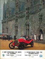 4e Coupe Internationale Des Musées De l'Automobile   Event Programs
