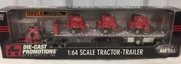 DCP Peterbilt Semi Truck w/3 Gehl 2580 Round Balers Limited 1/64 | Model Vehicle Sets