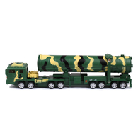 KDW 1/64 Scale Diecast DF-31A Ballistic Missile Launcher Model with Sound & Light | Model Military Artillery & Accessories