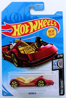 Deora III | Model Trucks | HW 2019 - Collector # 175/250 - Rod Squad 2/10 - Deora III - Red - USA Card