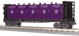 O gauge railking flat car   w%252fbulkheads and lcl containers model trains %2528rolling stock%2529 3d7629c3 ef28 4e05 a282 44db62caaace medium