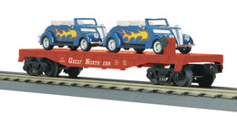 O gauge rail king flat car w%252f%25282%2529 %252737 ford v 8 convertibles great northern 65006 model trains %2528rolling stock%2529 8b7e6e82 d39b 46ab a97e ed6b386b2971 medium