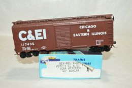 Ho scale athearn bev bel chicago and eastern illinois rr 40%2527 boxcar train model trains %2528rolling stock%2529 c7a24842 c8bc 418f 81c4 3e565d107983 medium
