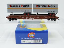 Ho scale athearn 92395 sp southern pacific 50%2527 flat car w%252f2 25%2527 trailers %2523563064 model trains %2528rolling stock%2529 9183f90f eabc 4111 a259 38a1c0002378 medium