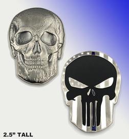 Punisher Skull Thin Blue Line Challenge Coin | Challenge