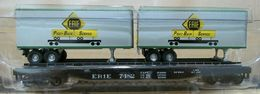 Athearn erie black 50%2527 flat car w%252ferie trailers %2528rtr%2529 model trains %2528rolling stock%2529 96e5e482 9c7a 40dd 8aaf 9c3e54ea024b medium