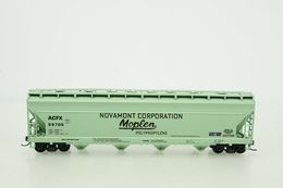 Athearn ho scale novamont corporation moplen acfx 55705 4 bay covered hopper model trains %2528rolling stock%2529 c9572de7 dbec 4971 8608 2d041c12fa8b medium