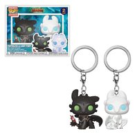 Toothless & Light Fury (2-Pack) | Keychains