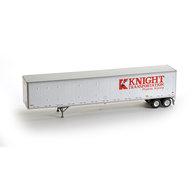 HO RTR 53' Duraplate Trailer, Knight #5913 | Model Trailers & Caravans