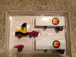 International Tractor Trailer Diecast Winross Truck Estes Express Lines Doubles #1888251082 | Model Vehicle Sets