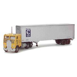 HO KIT Freightliner w/40' Trailer, Chessie | Model Vehicle Sets