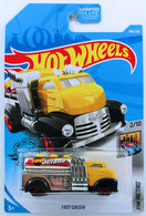 Fast Gassin' | Model Trucks | HW 2019 - Collector # 190/250 - HW Metro 2/10 - Fast Gassin - Yellow & Black - Red PR5 Wheels - USA Card