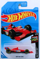 Indy 500 Oval | Model Racing Cars | HW 2019 - Collector # 077/250 - HW Race Day 7/10 - Indy 500 Oval - Red - USA Card