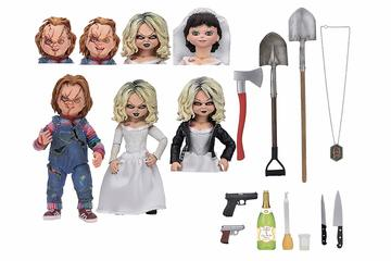 Ultimate Chucky and Tiffany 2-Pack | Action Figure Sets