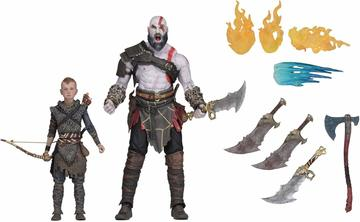 Ultimate Kratos and Atreus 2-pack | Action Figure Sets
