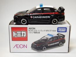 Subaru WRX STI Type S Carabinieri | Model Cars