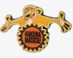 Hakuna matata timon  pins and badges 87417363 2272 4fbb a8ea 9c8961277645 medium