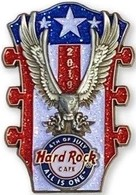 4th of July Eagle Headstock (Clone) | Pins & Badges | Front of Pin
