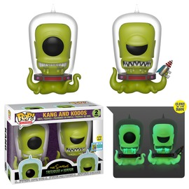 Kang and Kodos (Glow in the Dark) (2-Pack) [SDCC] | Vinyl Art Toys