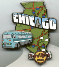 Journey of the RV | Pins & Badges | Hard Rock Cafe Chicago Journey of the RV Series 2019 pin
