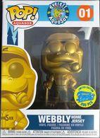 Webbly (Home Jersey) (Gold)   Vinyl Art Toys