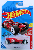 HW50 Concept   Model Cars   HW 2019 - Collector # 131/250 - Red Edition 9/12 - HW50 Concept - Red - Chrome Engine & Interior - USA Card - Target Exclusive