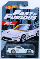 '95 Mazda RX-7 | Model Cars | HW 2019 - Fast & Furious 2/6 - '95 Mazda RX-7 - White / The Fast and the Furious - Walmart Exclusive