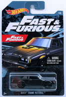 Buick Grand National | Model Cars | HW 2019 - Fast & Furious 1/6 - Buick Grand National - Black - Walmart Exclusive