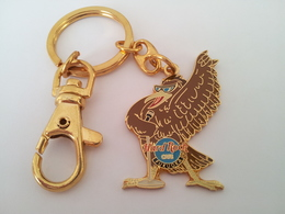 Hawk with microphone | Keychains
