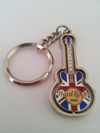 Union Jack spinning guitar | Keychains