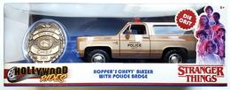 Hopper%2527s chevy blazer with police badge model trucks 521dc5a2 42f0 4a79 9fbf bb712f4b7836 medium