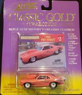 1969 Chevy Camaro Pro Street    Model Racing Cars