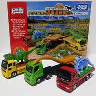 Let's Play! Dinosaur Truck Set | Model Vehicle Sets