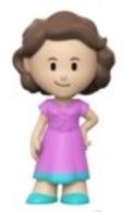 Nancy (Pink Dress) | Vinyl Art Toys