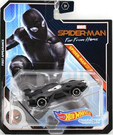 Spider-Man (Stealth Suit)   Model Cars   2019 Hot Wheels Marvel Comics Spider-Man Far From Home Spider-Man Stealth Suit