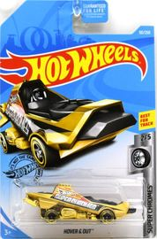 Hover & Out | Model Cars | 2019 Hot Wheels Super Chromes Hover & Out