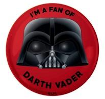 I'm a Fan of Darth Vader | Pins & Badges