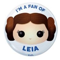 I'm a Fan of Leia | Pins & Badges