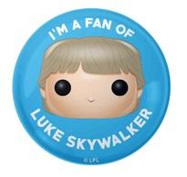 I'm a Fan of Luke Skywalker | Pins & Badges