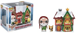 Santa claus and nutmeg with house vinyl art toys 7f8829a4 8b0b 4428 ac71 d4d3e6986db5 medium
