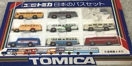 Japanese Bus Set | Model Vehicle Sets