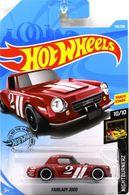 Fairlady 2000 | Model Racing Cars | 2019 Hot Wheels Nightburnerz Nissan Fairlady