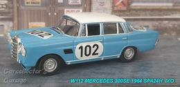 Mercedes-Benz W112 1964 300SE Spa 24hours | Model Cars