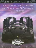 Exotic sports car show and concours d%2527elegance 2007 program event programs 2c688603 306e 4a75 9395 d172753dcb73 medium