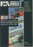 Belgian grand prix spa francorchamps 1988 program event programs 83a2bdaf f5a9 495f 962b 7d6155700b55 medium
