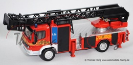 Mercedes-Benz Atego Fire Engine  | Model Trucks